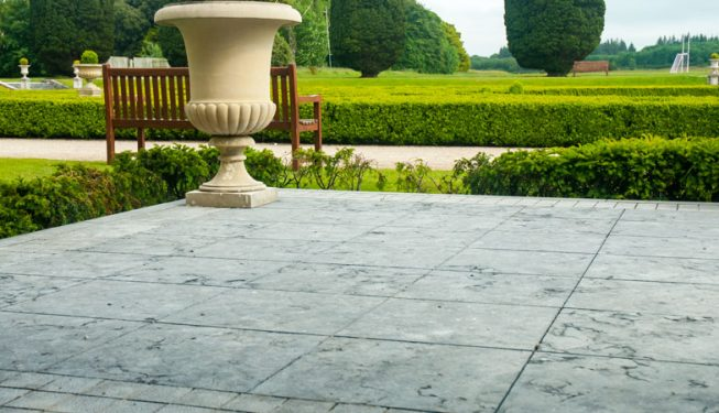 Patio Area at Castlemartyr Resort