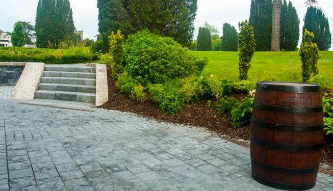 Patio Area at Castlemartyr Resort