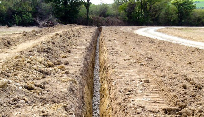 Land Drainage at Private Residence