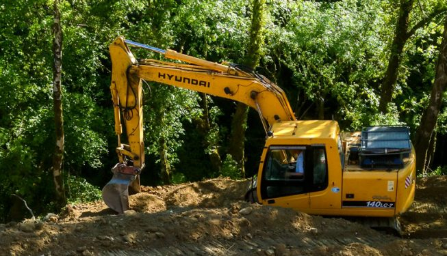 Ground Works at private Residence