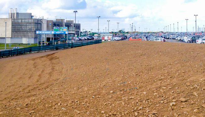 Site Preparation at Cork Airport