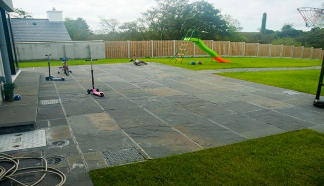 Patio, Lawn and Fencing - Private Garden 1
