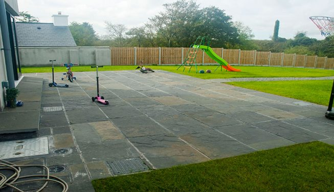 Patio, Lawn and Fencing - Private Garden 2